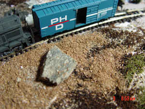 N-scale ground cover