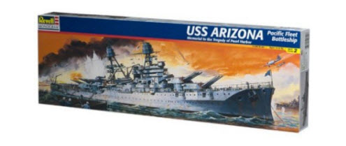 Revell USS Arizona kit build